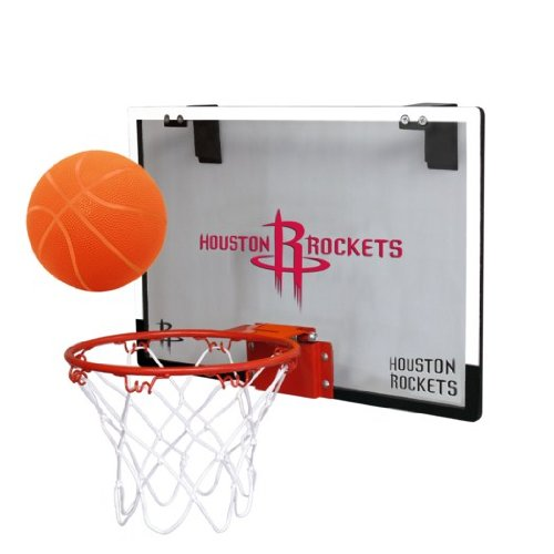 fan products of NBA Houston Rockets Game On Indoor Basketball Hoop & Ball Set