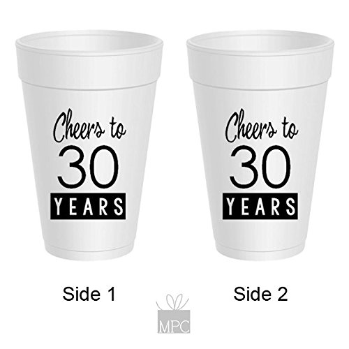 30th-birthday-styrofoam-cups-cheers-to-30-years