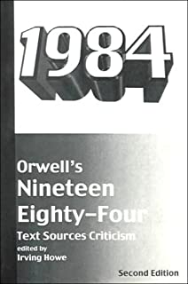 com orwell s a collection of critical essays th  orwell s nineteen eighty four text sources criticism harbrace sourcebooks