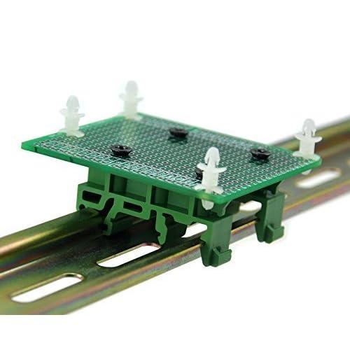 Electronics-Salon DIN Rail Mount Adapter//Prototype PCB Kit For Arduino UNO//Mega 2560 etc.