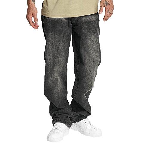 Rocawear Herren Jeans / Loose Fit Jeans Mirror grau W 44