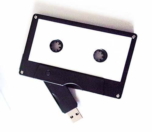Cassette Tape USB Stick Flash Drive, 8 GB, 2.0 USB- DIY Design, Data Storage, Flash Drive, Jump Drive, Computer Data, Music Storage, Picture Storage, Custom Gift (Cassette Tape Jewel Case)