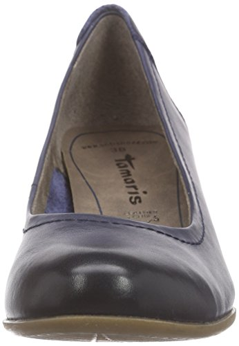 Tamaris 22302 Damen Pumps Blau (NAVY 805)