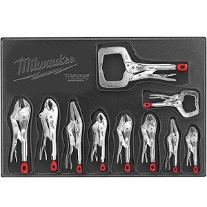 Milwaukee (MLW48223690) 10 Pc. Locking Plier Auto Kit by Milwaukee