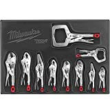 Milwaukee (MLW48223690) 10 Pc. Locking Plier Auto Kit