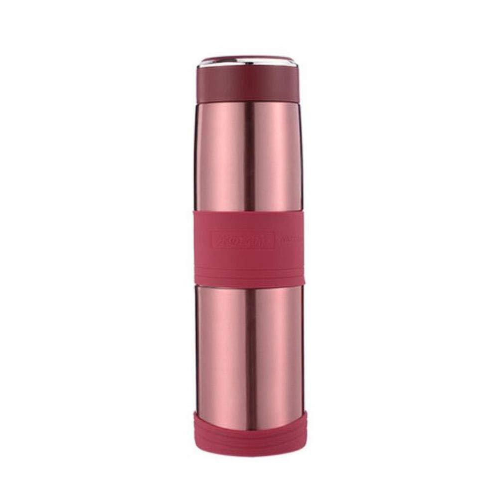 F & H FH Große Kapazität Becher Männliche und weibliche Tragbare Wasser Tasse 316 Edelstahl Tee Trennung Tee Tasse