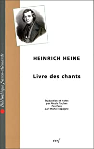 Livre des chants par Heinrich Heine