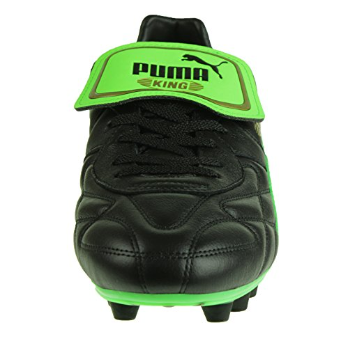 Puma King Top m.i.i FG, Puma Black-Safety Yellow-Gold Puma Black-Green Gecko-Gold