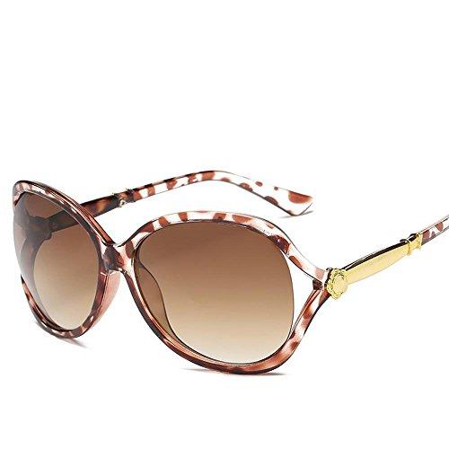 Aoligei Mode lunettes de soleil lady fleur creux tendance lunettes de soleil personnalité cent paire de lunettes de soleil QDGq8G