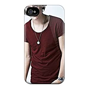 Hot Style VKU4418CgyW Protective Cases Covers For Iphone4/4s(one Direction Harry Styles)