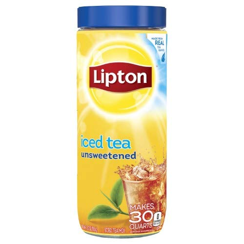 Lipton, Unsweetened Iced Tea Mix (Pack of 8)
