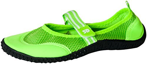Starbay Women's Mary Janes Athletic Mesh Aqua Flats Water Shoes Green 8