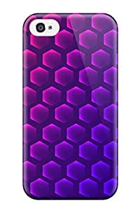 Dixie Delling Meier's Shop New Style MarvinDGarcia Hard Case Cover For Iphone 4/4s- Hexagon