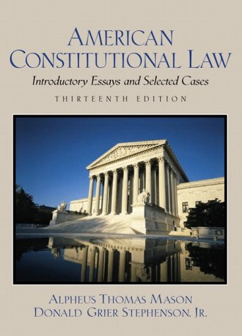 constitutional law 1 book pdf