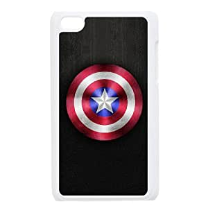 Ipod Touch 4 Phone Case for Captain America pattern design