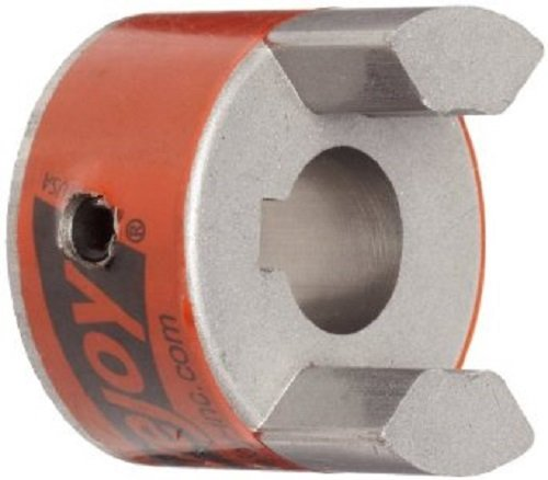 Lovejoy 10424 Size L070 Standard Jaw Coupling Hub, Sintered Iron, Inch, 0.625