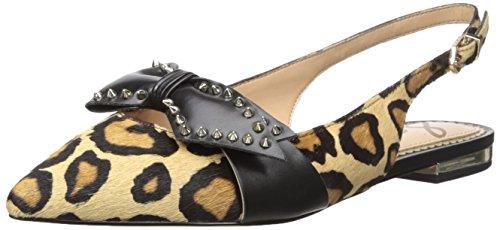 Sam Edelman Womens Rupert Ballet Flat New Nude Leopard