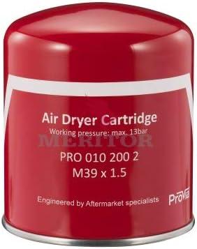 Genuine Meritor ProVia PRO0102002 Air Dryer Dessicant Cartridge 5008414 R950068A