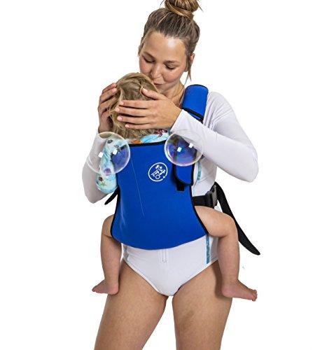 Frog Orange Wetsuit Baby Carrier (Royal Blue) ()