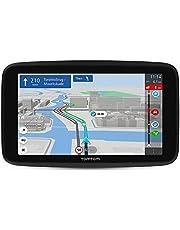 """TomTom navigatie GO Discover 6"""", met premium TomTom Traffic en Flitsmeldingen, kaart wereld, snellere updates via WiFi, parkeerbeschikbaarheid, brandstofprijzen en klik-en-rijd houder"""