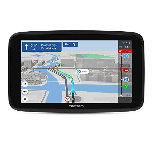 TomTom-GPS-para-Coche-GO-Discover-6-Pulgadas-con-trafico-y-radares-mapas-del-Mundo-actualizaciones-rapidas-Via-WiFi-disponibilidad-de-Parking-Precios-de-Combustible-Soporte-Click-Drive