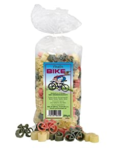 Fahrrad-Nudeln Pasta Bike