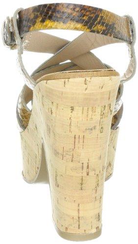 Manas capri 121L6202PT - Sandalias de vestir de nailon para mujer Marrón (Braun (DESERTO))