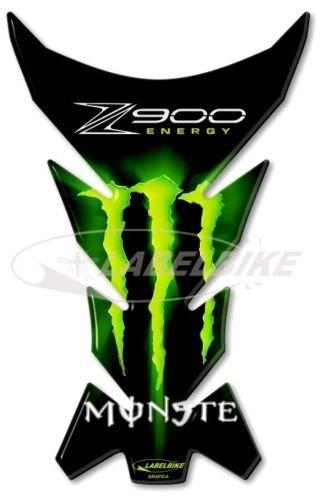 Labelbike Protè ge-ré servoir 3D gel compatible pour moto Kawasaki Z900