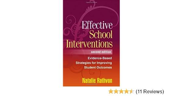 effective school interventions second edition rathvon natalie