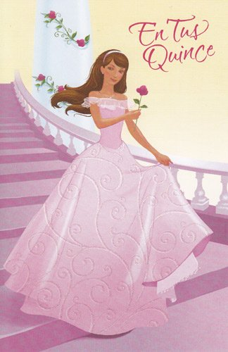 Amazon birthday card en tus quince quinceanera her 15th birthday card en tus quince quinceanera her 15th birthday m4hsunfo