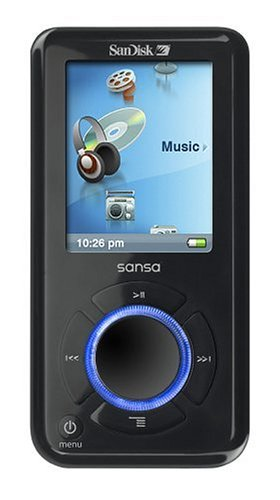 SanDisk Sansa e270 6 GB MP3 Player with SD Expansion Slot (Black)