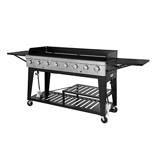 Royal Gourmet Event 8-Burner BBQ Propane Gas Grill for Party