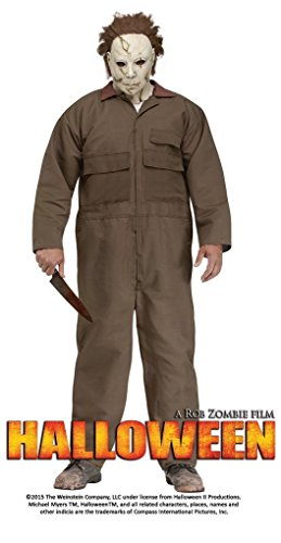Michael Myers Plus Size Adult Mens Costumes (Adult Michael Myers Costume - Plus - 6 Ft 2 In 300 Lbs)