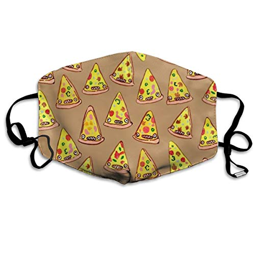 SyjTZmopre Ham and Pineapple Pizza Mouth Mask Unisex Printed Fashion Face Anti-dust Masks]()