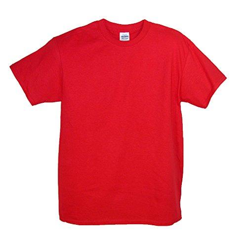 Gildan Men Big and Tall Classic Crew Neck T Shirt, 2XL, - Tee Mens Crewneck Big Gildan