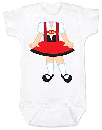 Vulgar Baby Bodysuit, Oktoberfest Dirndl - Little Bodies, 6-12 MO, -