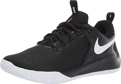 Nike Women's Zoom HyperAce 2 Volleyball Shoes (6, Black/White)