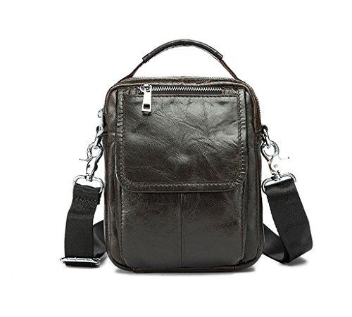 Messenger Large Bags Capacity Briefcases 2 Leather 3 Sucastle Design Shoulder Vintage Men's qWX7gB