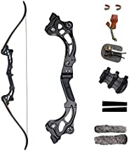 """SinoArt 64"""" Takedown Recurve Bow Metal Riser 30-60Lbs Right Handed for Archery Hu"""