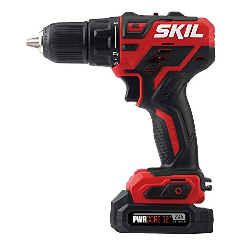Skil DL529002 PWRCore 12 Brushless 12V 1/2 Inch Cordless Drill Driver, Includes 2.0Ah Lithium Battery and PWRJump Charger – Review