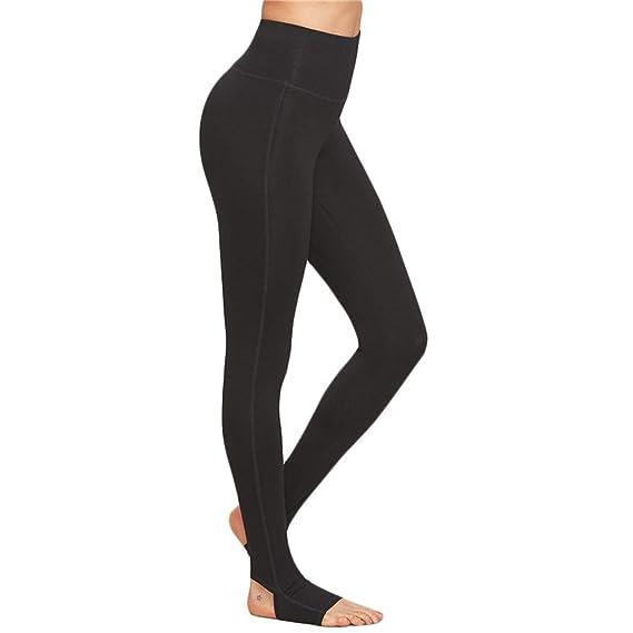 Lunule Mujer Pantalones Deportivos de Yoga de Cintura Alta ...