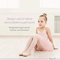 tanzmuster Falda de Ballet Cruzada de Gasa Emma para niñas en ...