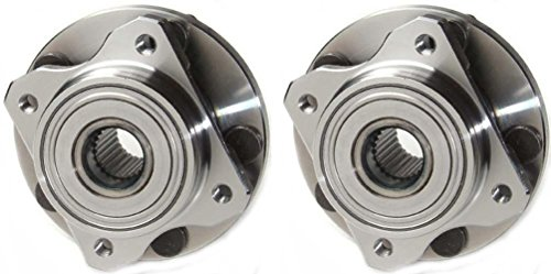 [Prime Choice Auto Parts HB613125PR Front Hub Bearing Assembly Pair] (Country Front Hubs Bearings)
