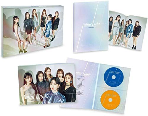 GFRIEND - Fallin' Light 【첫 한정반】 CD+DVD,한정판