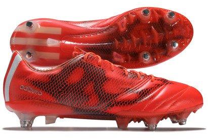 adidas AC8736 F50 adizero TRX SG Mens Football Boots Tamaño de piel UK 7 rojo
