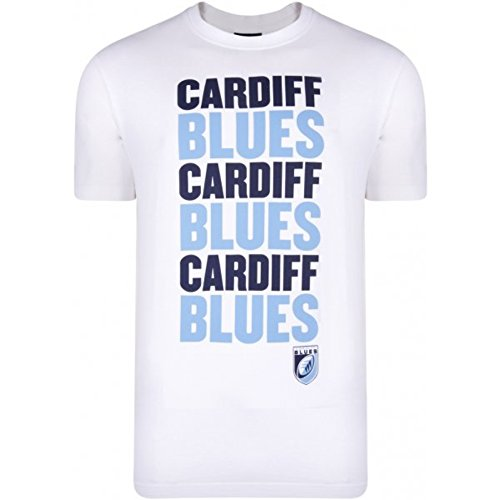 2013-14 Cardiff Blues Logo Cotton Tee (White)