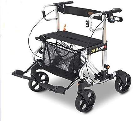 Amazon.com: MLX - Carrito de la compra plegable ligero, 4 ...