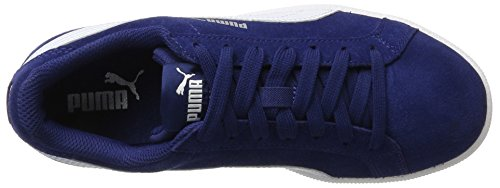 Puma Smash SD, Unisex-Erwachsene Sneaker Blau (Blue Depths-White)