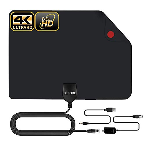 TV Antenna 50 Miles Amplified Digital HDTV Antenna ()