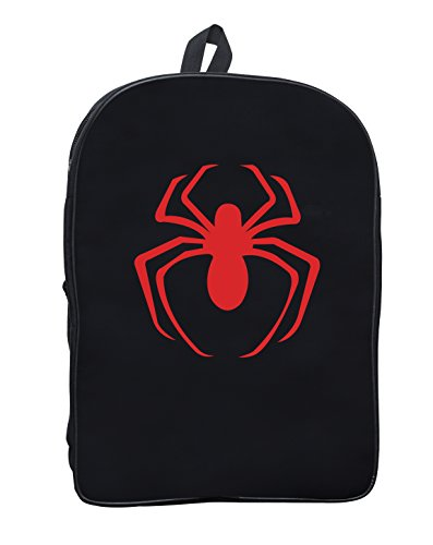 Spiderman Red Logo logo Backpack for School Travel Daypack